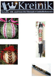 Kreinik Christmas Ornament Kits