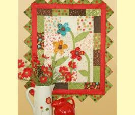 Oopsie Daisy Wall Hanging Pattern by Sandy Gervais