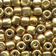 05557 Old Gold Pebble Beads