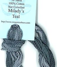Milady's Teal Classic Colorworks Perle 5
