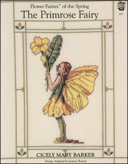 The Primrose Fairy Cross Stitch Pattern