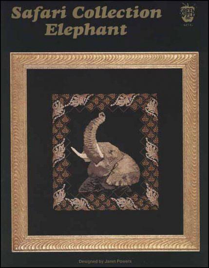 Elephant Cross Stitch Pattern