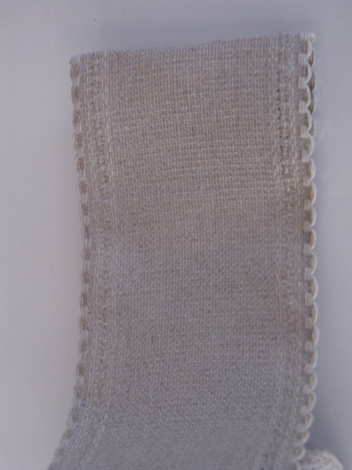 24Ct Raw Linen Band