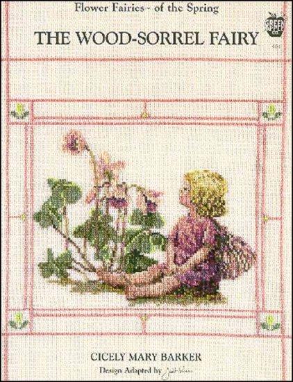 The Wood -Sorrel Fairy Cross Stitch Pattern