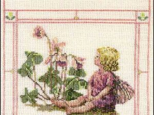 The Wood -Sorrel Fairy Cross Stitch Pattern
