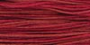 1336 Raspberry Weeks Dye Works Floss