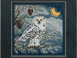 Snowy Owl Mill Hill Kit