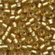 16031 Frosted Gold Size 6 Beads