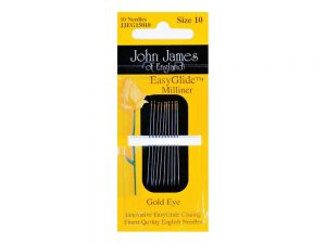 Gold n Glide Milliners Needles Size 10