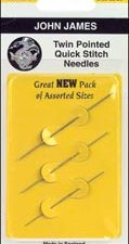 Twin Pointed Quick Stitch Tapestry Needles