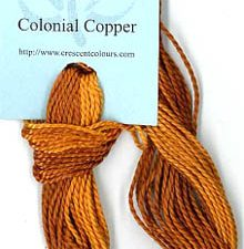 Colonial Copper Classic Colorworks Perle 5