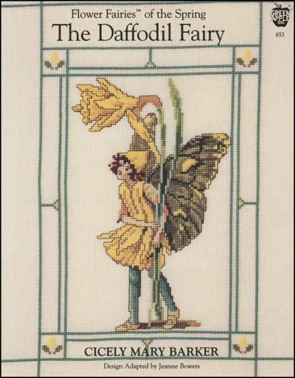 The Daffodil Fairy Cross Stitch Pattern