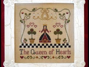 The Queen of Hearts pattern by Classic Colorworks Cross Stitch Pattern