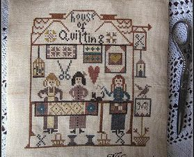 House of Quilting by Nikys Creations Cross Stitch Pattern