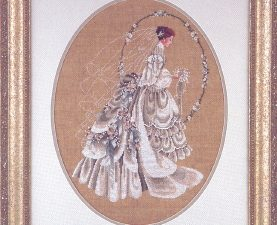 The Bride Cross Stitch Pattern