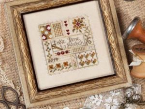 Take Time to Stitch by Jeannette Douglas Cross Stitch Pattern