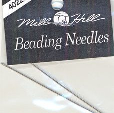 Mill Hill Beading Needles 2 pack