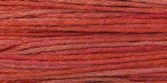 2258 Aztec Red Weeks Dye Works Floss