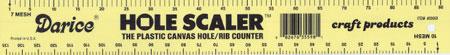 Darice Plastic Canvas Hole/Rib Counter