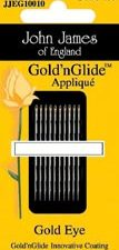 Gold n Glide Applique Needles Size 9