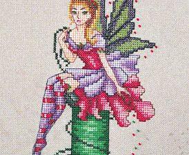 Arianna, The Stitching Fairy patterm Cross Stitch Pattern