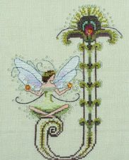 "Letter ""J"" by Norah Corbet Cross Stitch Pattern"
