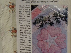 Hearts and Stars Quilt Kit by Faeries in my Garden