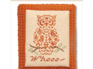 French Country - Owl Cross Stitch Pattern