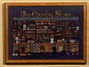 The Country Store Cross Stitch Pattern