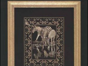 Zebras Cross Stitch Pattern