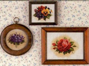 Tea Garden  Cross Stitch Pattern