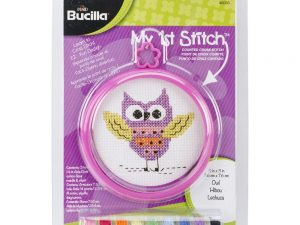 Owl My First Cross Stitch Kit by Bucilla BU46033