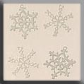 Metal Treasure 15001 White Snowflake