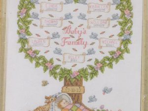 Baby's Family Tree Cross Stitch Kit by Bucilla BU45707