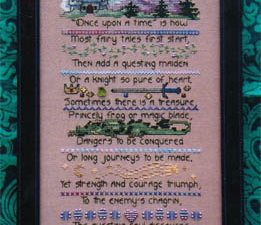 Fairy Tale Sampler by Dragon Dreams Cross Stitch Pattern