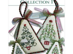 Christmas Tree Collection 1 Cross Stitch Pattern