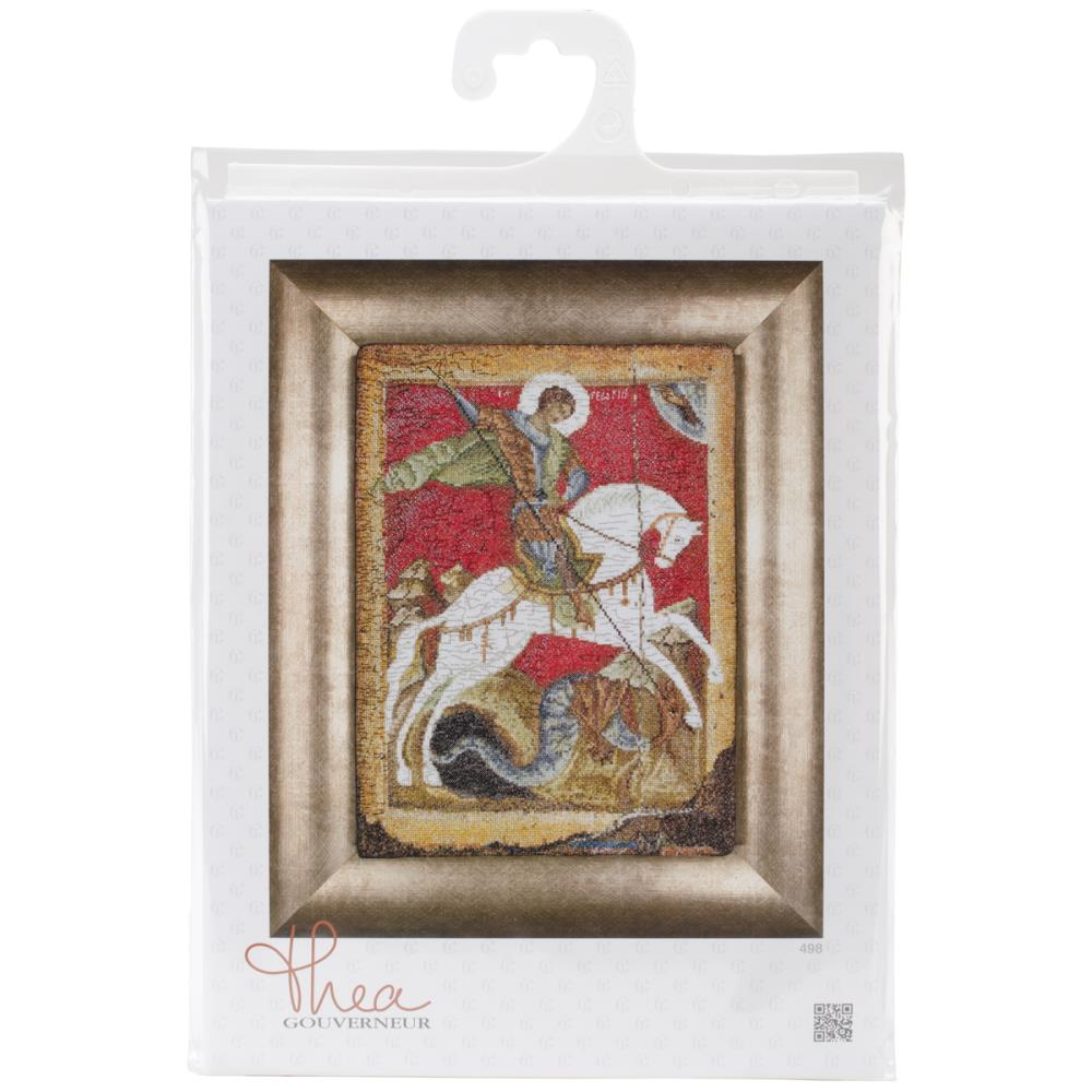 St George  Cross Stitch Kit
