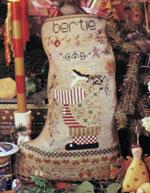 Bertie Christmas Stocking Pattern