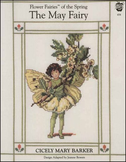 The May Fairy Cross Stitch Pattern