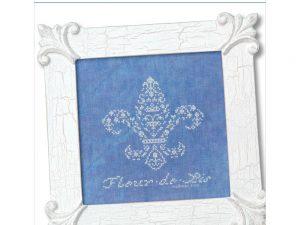 French Country - Fleur de Lis Cross Stitch Pattern