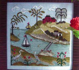 The Tidal River #1 by Donna Bayliss pattern Cross Stitch Pattern