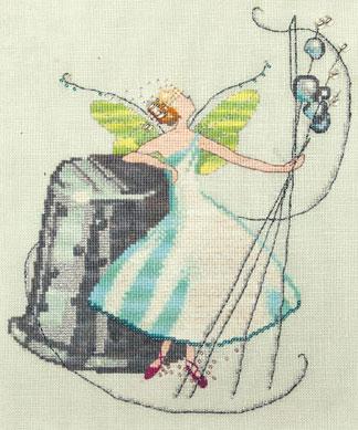 The Thimble Fairy by Nora Corbett Cross Stitch Pattern