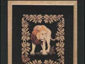 Lion Cross Stitch Pattern