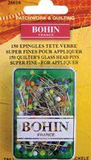 Bohin Glass Head Pins