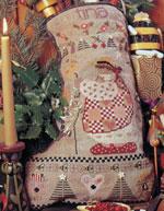 Tina Christmas Stocking Pattern