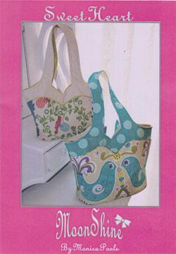 Sweet Heart Moonshine Bag Pattern