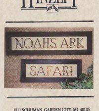 Noah's Ark Safari Cross Stitch Pattern