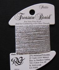 PB04 Silver Rainbow Gallery Petite Treasure Braid