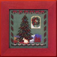 Christmas Eve Buttoned & Beaded  Mill Hill Kit