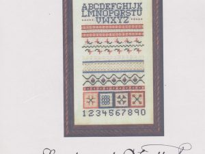 Joseph's Sampler Cross Stitch Pattern